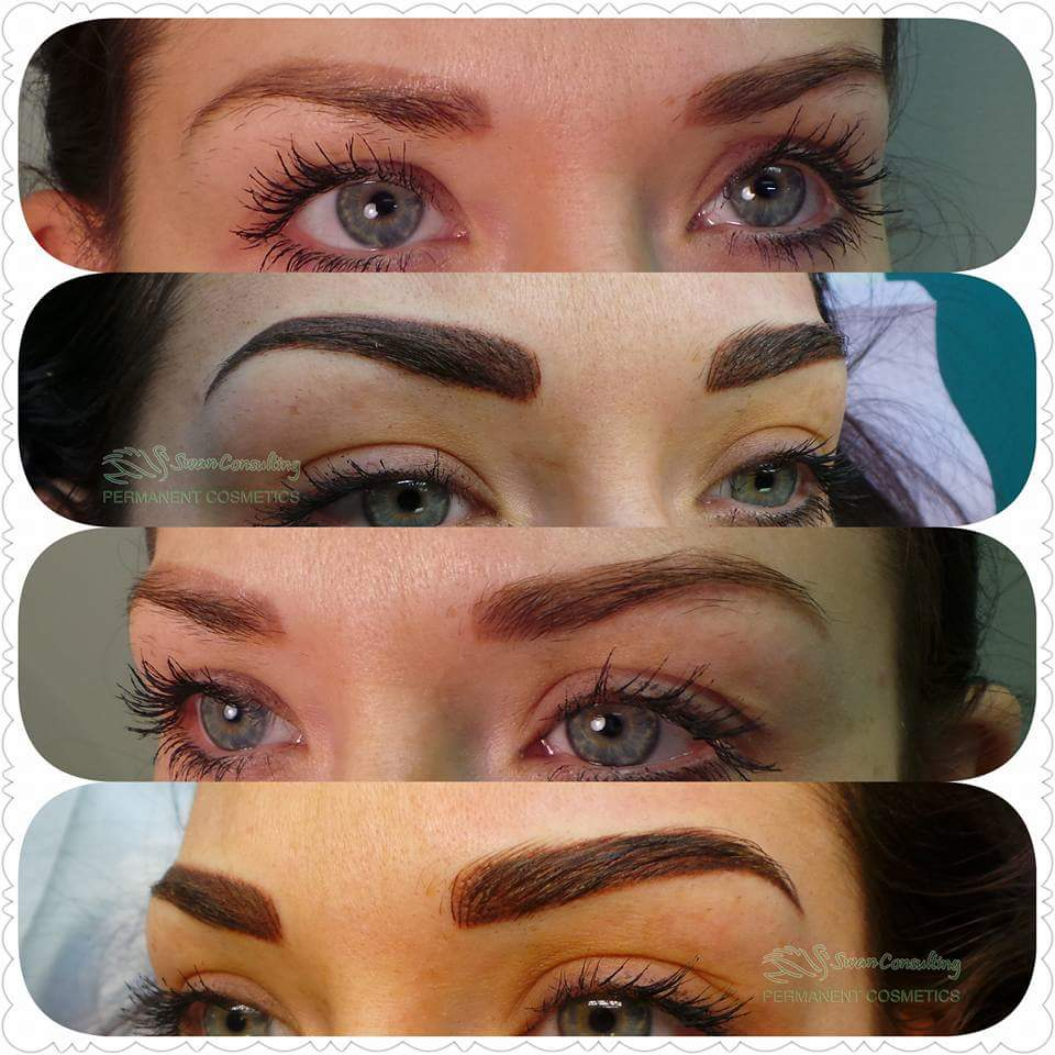 Eyebrows Swan Consulting Permanent Cosmetics
